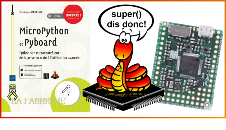 French book on MicroPython & Pyboard