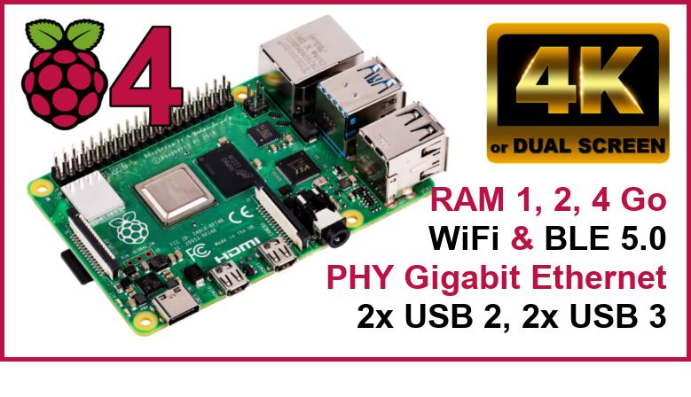 Raspberry Pi 4 - la révolution technologique à petit