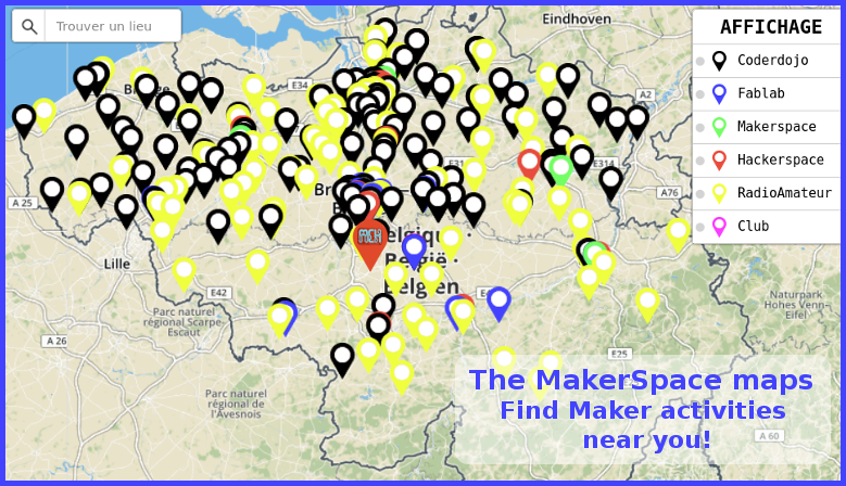 Discover maker activity near you!