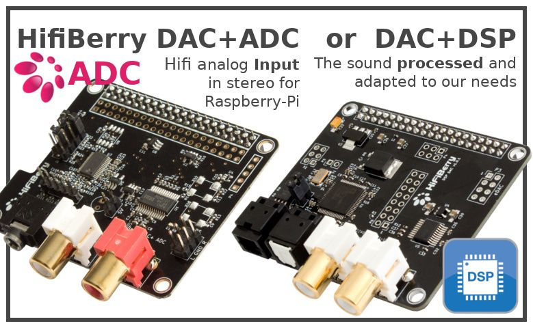 New HifiBerry sound board