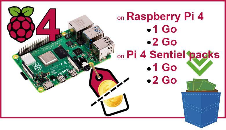 Rebate on the Raspberry-Pi 4