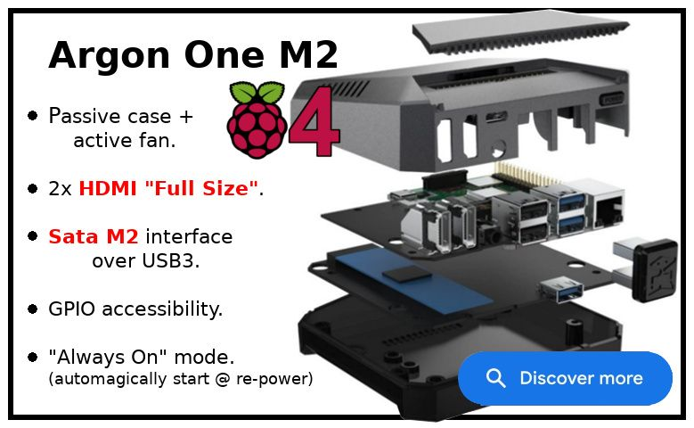 Argon One M2 for Raspberry Pi 4