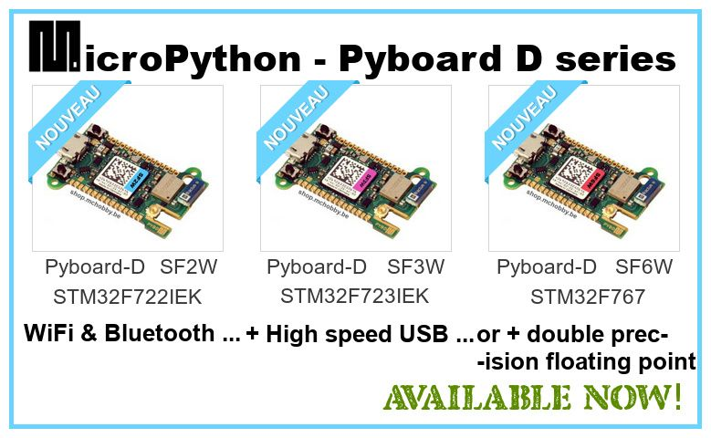 The new MicroPython board
