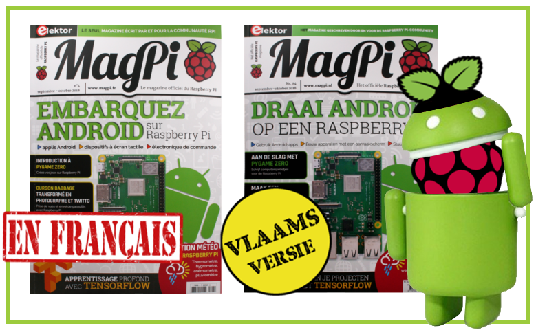 Map Pi 4 - faire foncitonner Android sur Raspberry-Pi